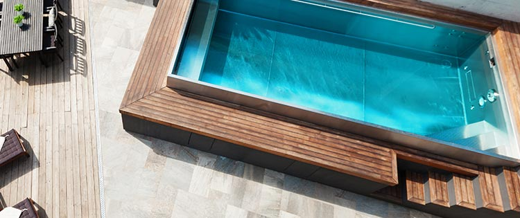 devis piscine coque polyester Bras-Panon