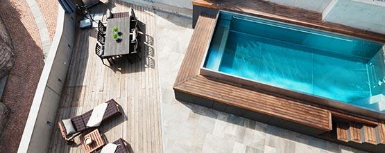 piscine beton pas cher Port