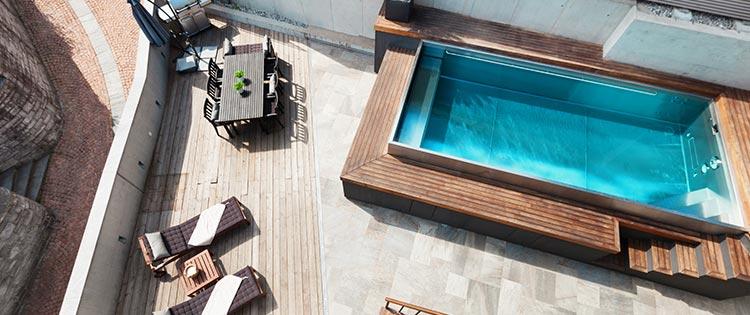 piscine coque polyester pas cher Saint-Pierre